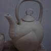 Teapot just made and drying.